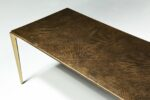Alternate view thumbnail 3 of Jerome Textured Metal Coffee Table