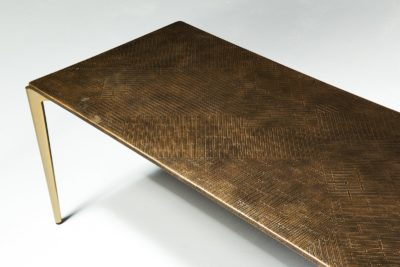 Alternate view 3 of Jerome Textured Metal Coffee Table