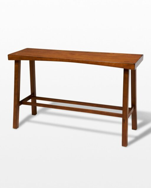Front view of Broderick Wooden Console Table