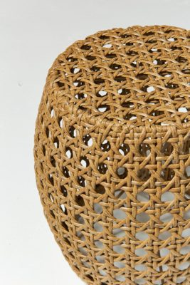 Alternate view 2 of Pearl Caned Wicker Stool Table