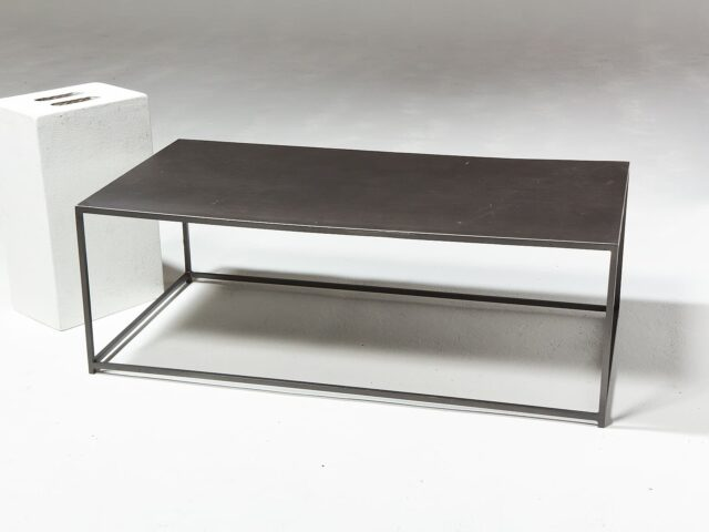 Alternate view 1 of Izzo Metal Frame Coffee Table