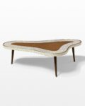 Front view thumbnail of Cosmo Tiled Veneer Coffee Table