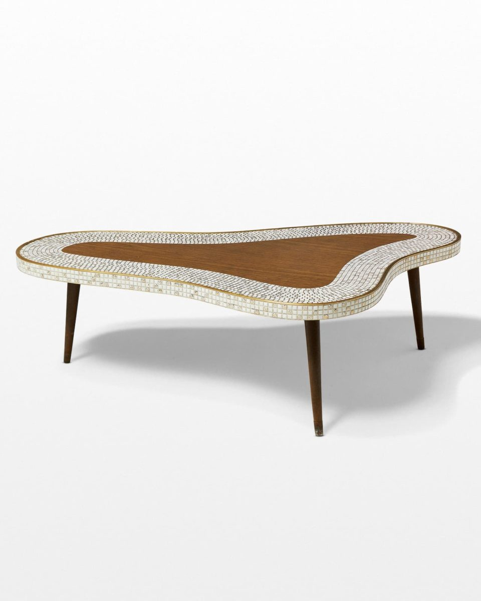 Front view of Cosmo Tiled Veneer Coffee Table