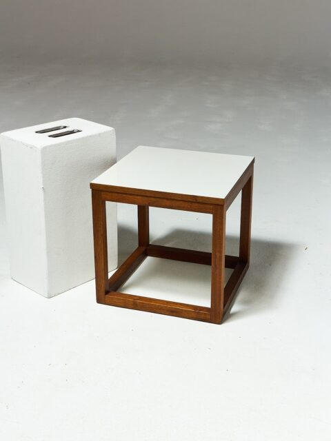 Alternate view 1 of Gwen Wooden Cube Side Table