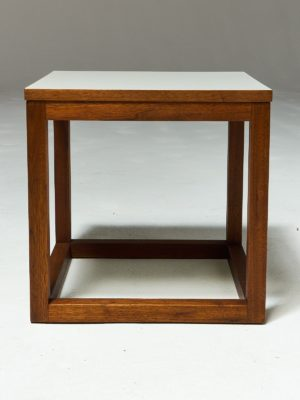 Alternate view 2 of Gwen Wooden Cube Side Table
