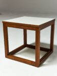 Alternate view thumbnail 3 of Gwen Wooden Cube Side Table