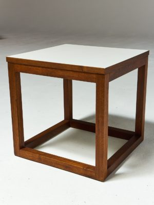 Alternate view 3 of Gwen Wooden Cube Side Table