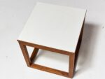 Alternate view thumbnail 4 of Gwen Wooden Cube Side Table