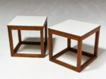 Alternate view thumbnail 5 of Gwen Wooden Cube Side Table