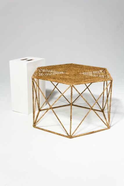Alternate view 1 of Jute Hexagon Coffee Table