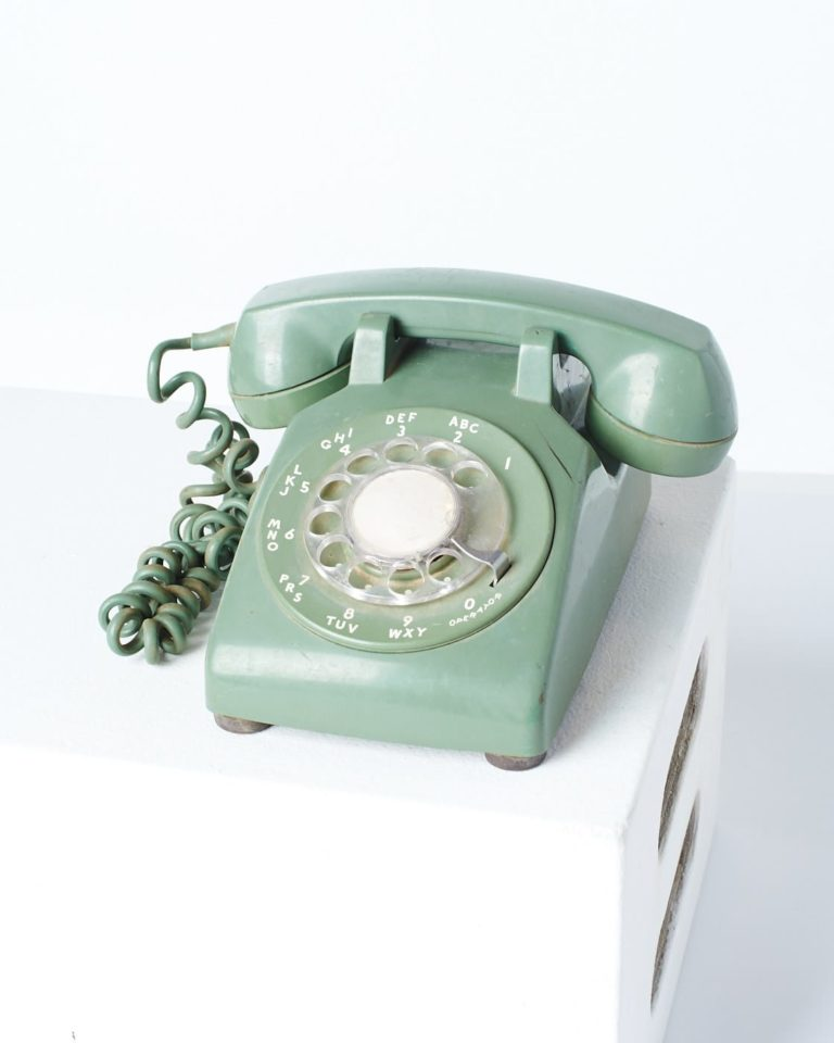 Front view of Laura Rotary Phone