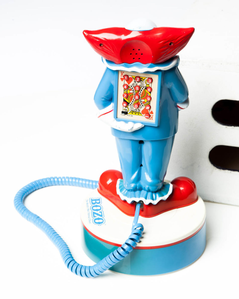 Alternate view 1 of Clown Telephone