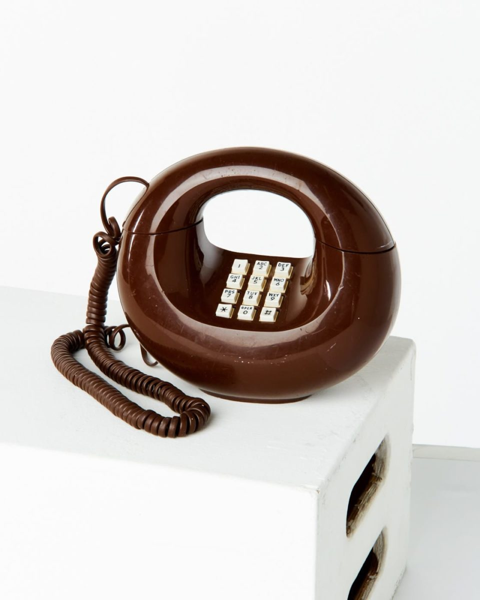 Front view of Brady Phone