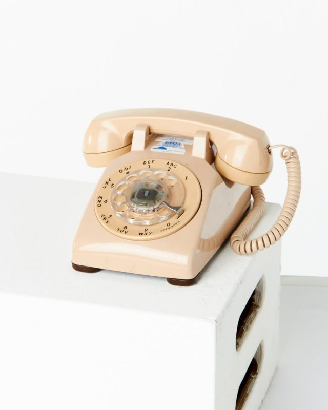 Front view of Cook Rotary Phone