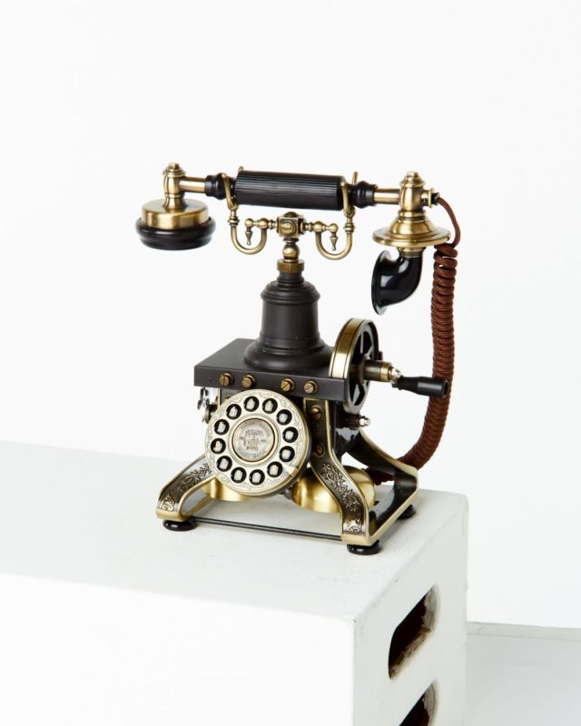 Front view of Madsen Phone