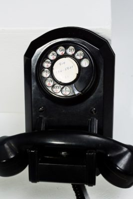 Alternate view 1 of Cagney Rotary Wall Phone