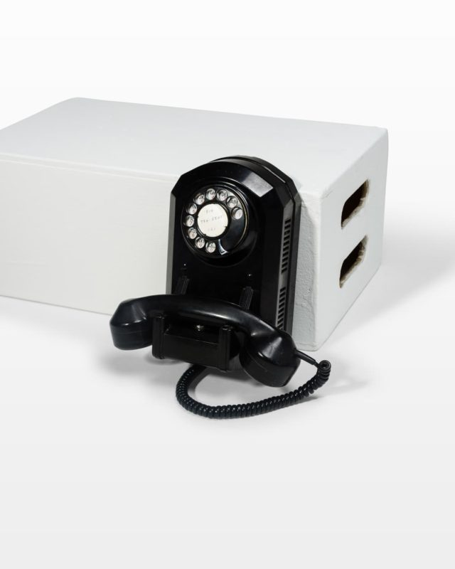 Front view of Cagney Rotary Wall Phone