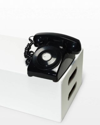Front view of Single Line Phone