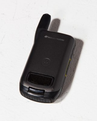 Alternate view 3 of Motorola Black Flip Cell Phone