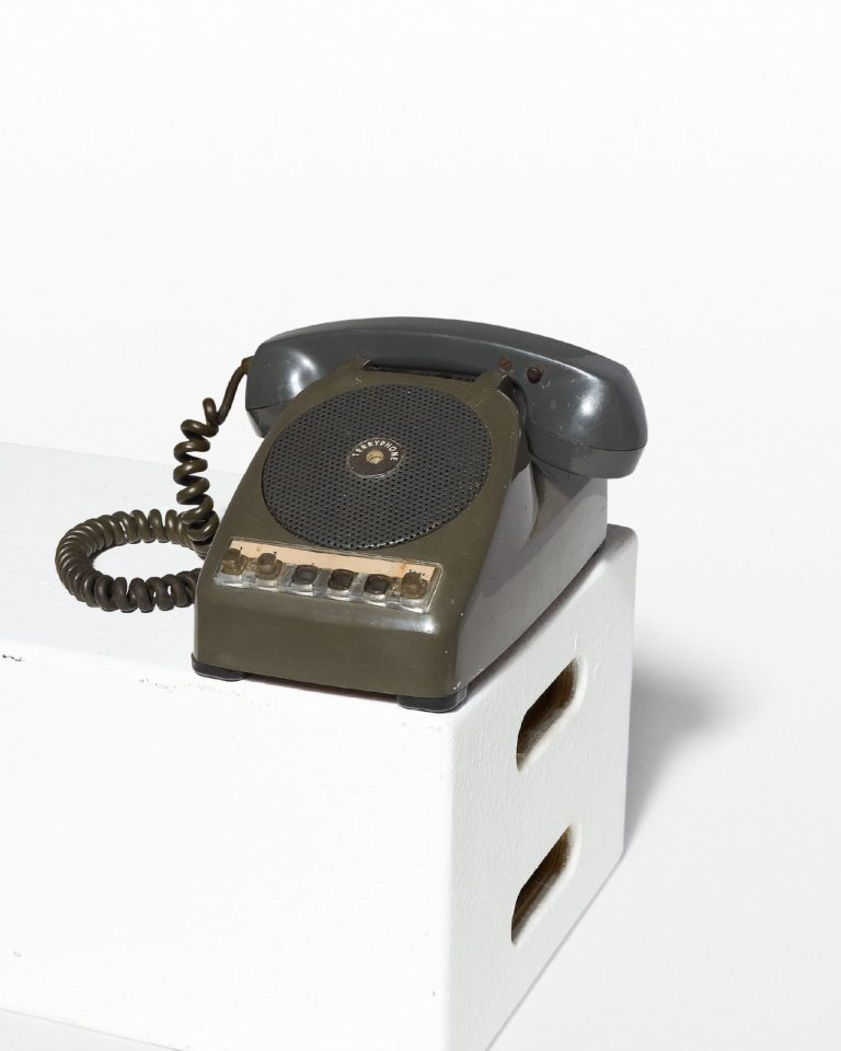 Front view of Burke Speaker Phone