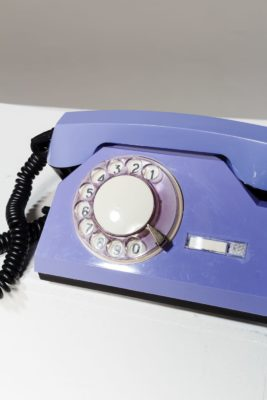 Alternate view 1 of Francis Purple Rotary Phone