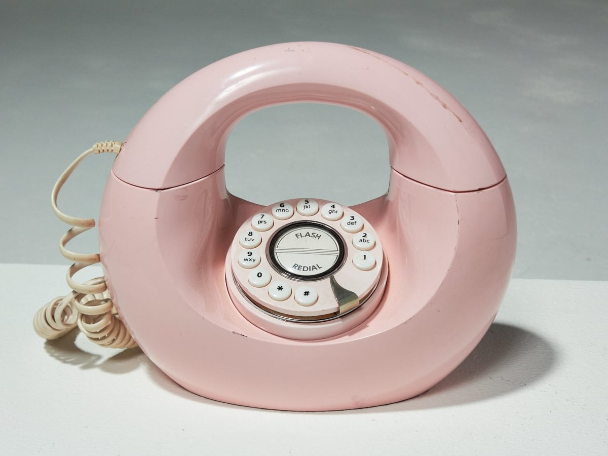 Alternate view 1 of Conner Pink Phone