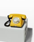 Front view thumbnail of Canary Yellow Rotary Phone