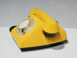 Alternate view thumbnail 3 of Canary Yellow Rotary Phone