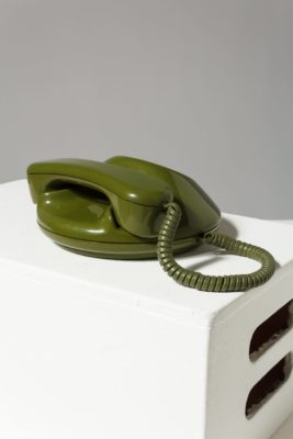 Alternate view 2 of Avocado Rotary Phone
