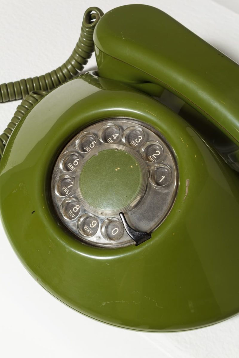 Alternate view 3 of Avocado Rotary Phone