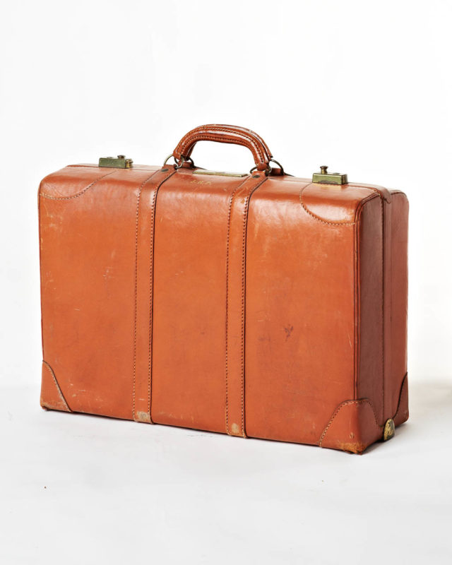 Front view of Howell Luggage