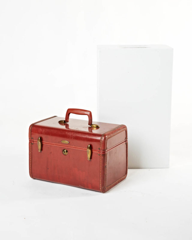 Front view of Ginger Luggage Case