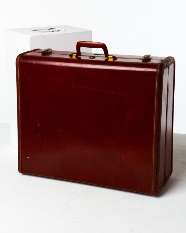 Front view of Denver Luggage