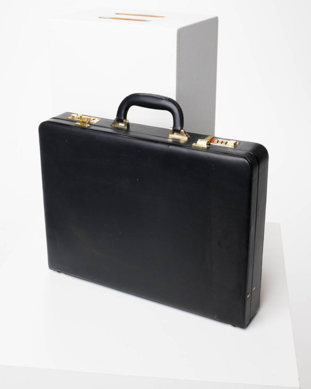 Front view of Ellison Briefcase