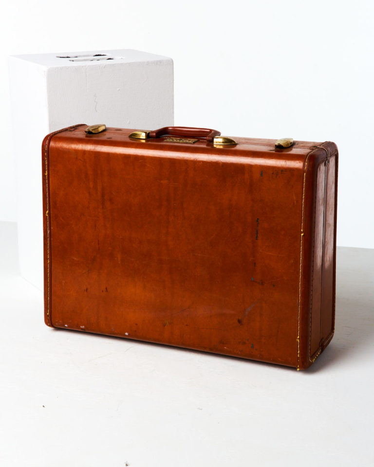 Front view of Giles Luggage