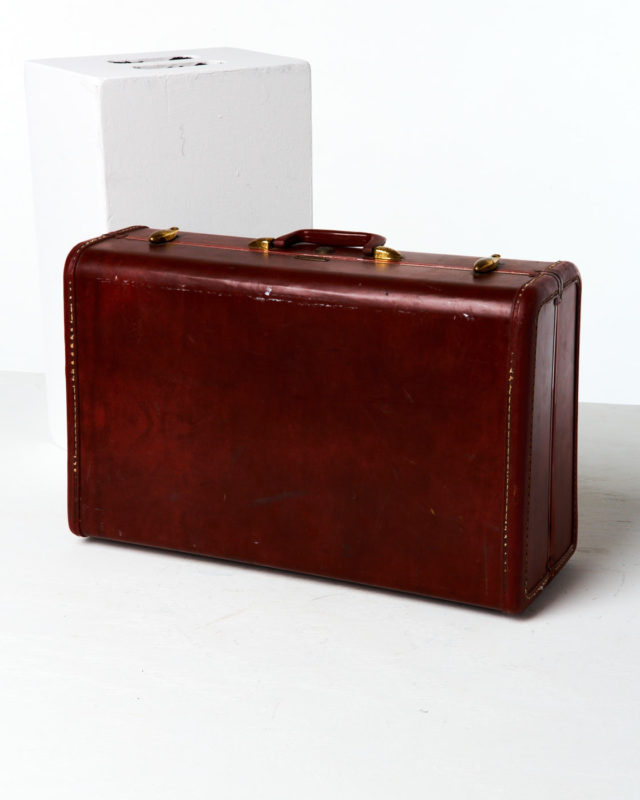 Front view of Mitchell Luggage