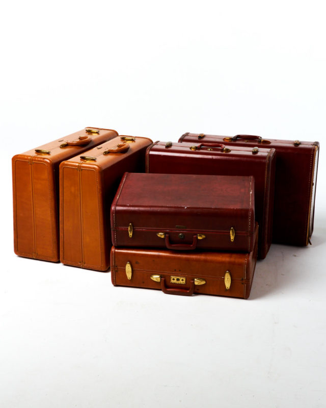 Front view of Croft Luggage Set