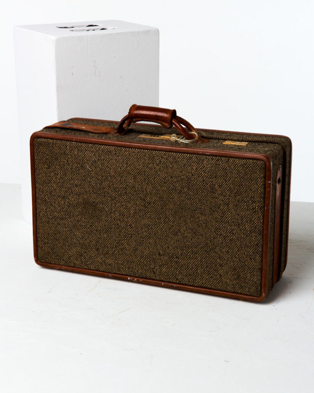 Front view of Fawcett Suitcase