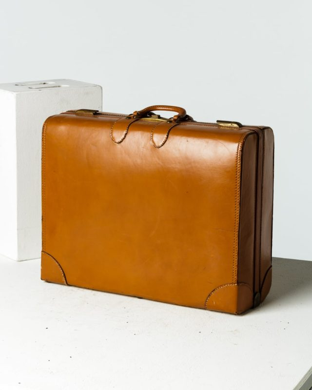 Front view of Garner Luggage