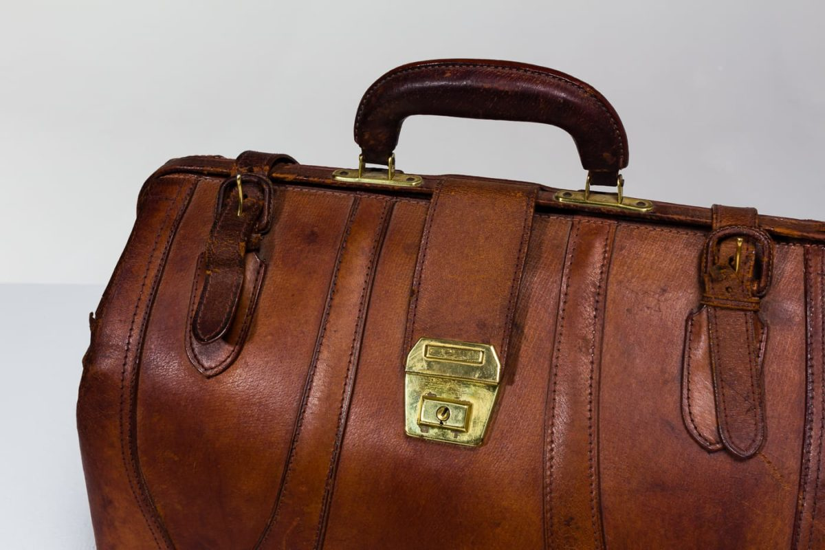 Alternate view 3 of Cabot Leather Duffle