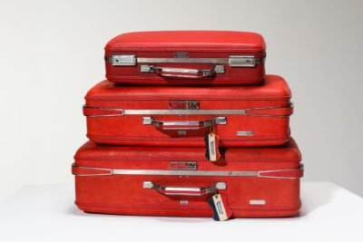 Alternate view 1 of Francisco Red Luggage