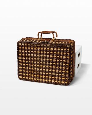 Front view of Eberhardt Woven Luggage
