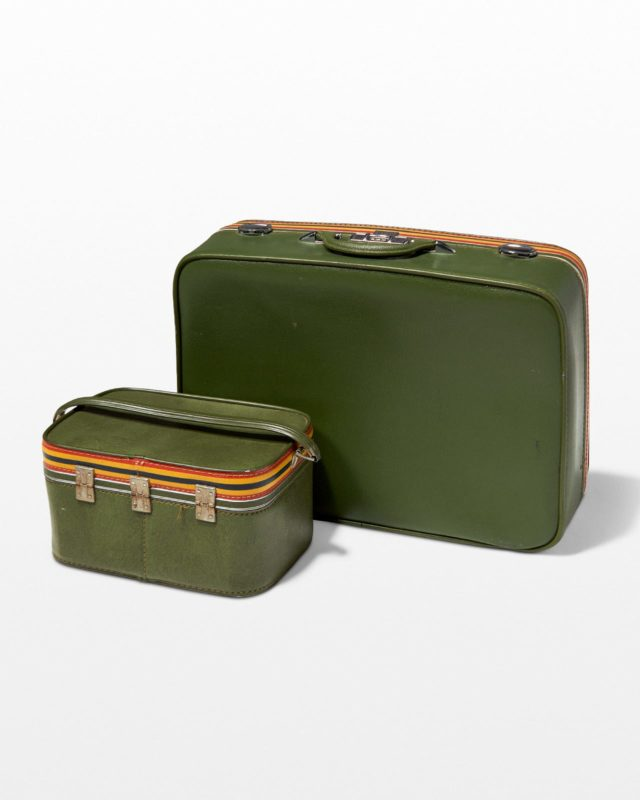 Front view of Livingstone Luggage Set