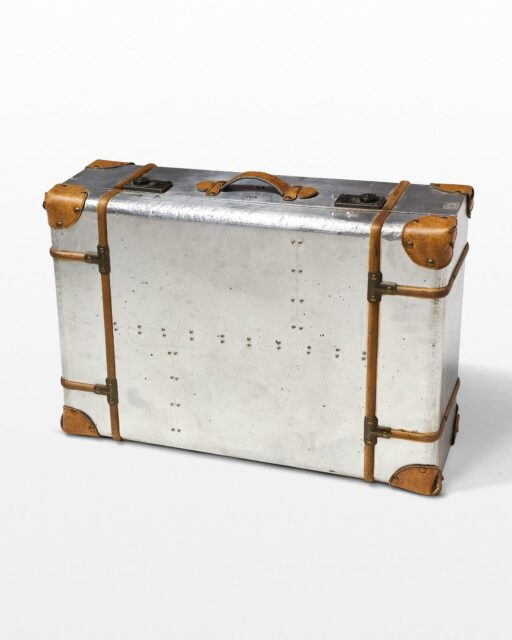 Front view of Soto Metal Luggage