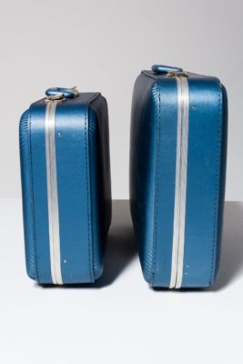 Alternate view 1 of Barclay Blue Luggage Set
