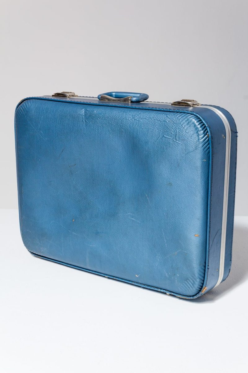 Alternate view 2 of Barclay Blue Luggage Set