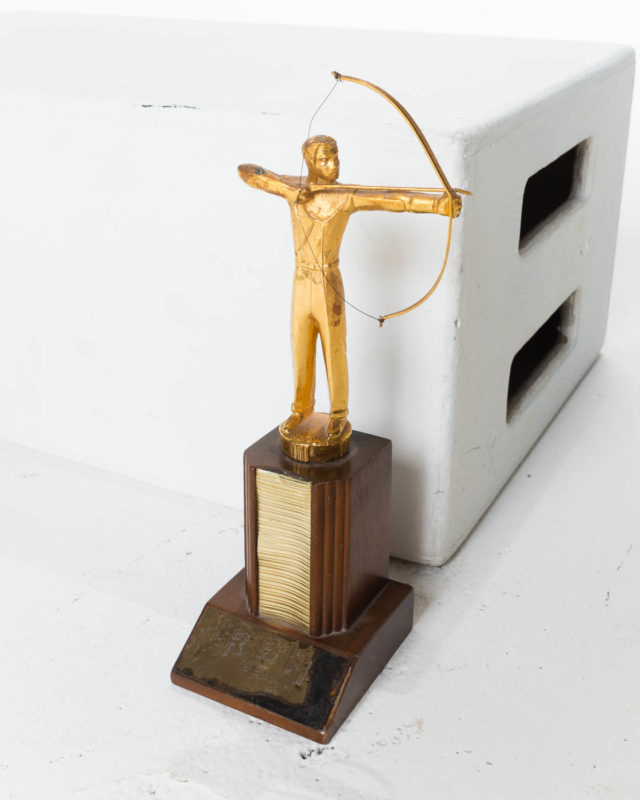 Front view of Archer Trophy