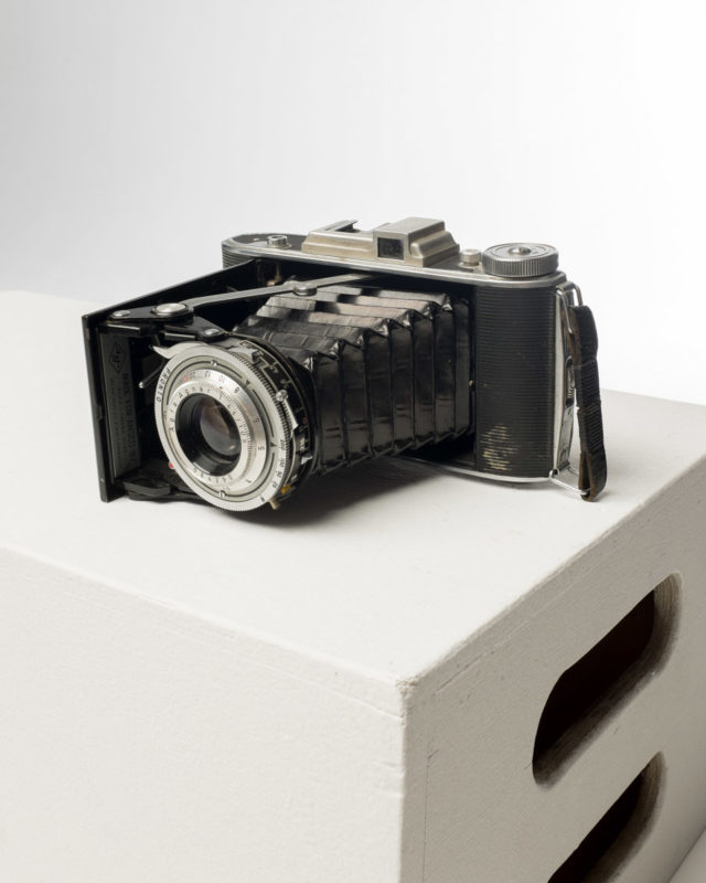 Front view of Agfa Ansco Viking 4.5 Camera