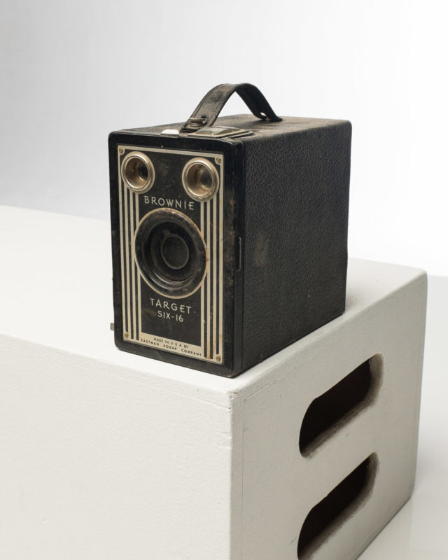 Front view of Kodak Brownie