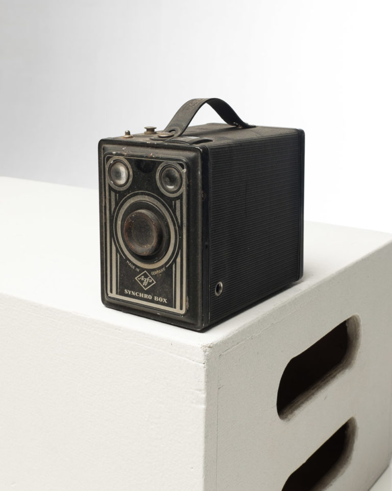 Front view of Agfa Brownie Camera